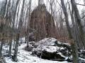 Kormos-kő sziklabástya - Fenyőkút