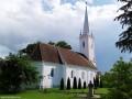 A református templomkert tujabokrai - Backamadaras