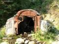Felhagyott bányajárat - Leszpez lába